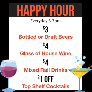 Happy Hour, Exclusive Specials